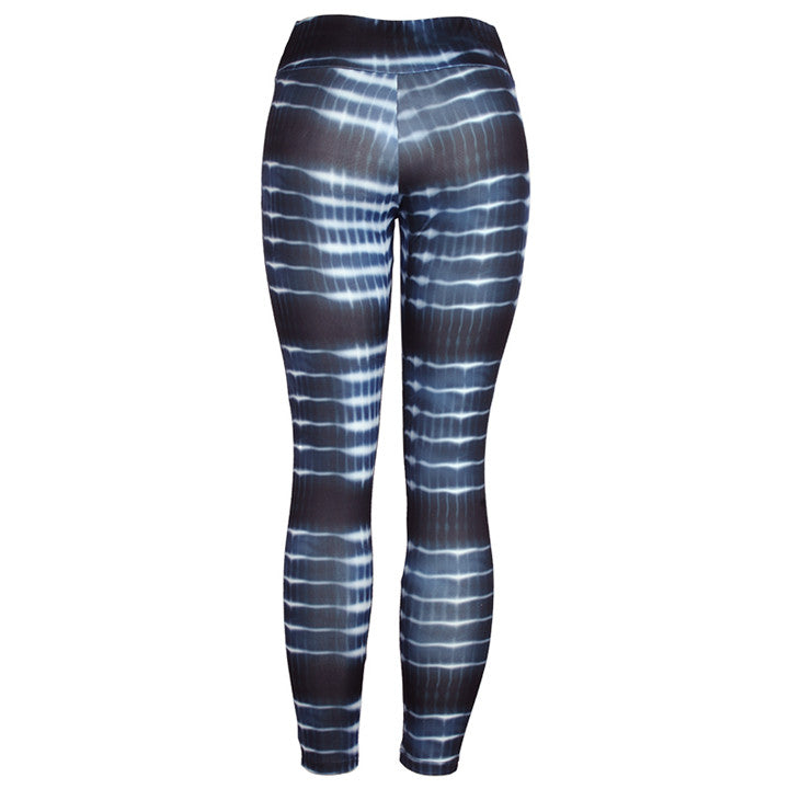 Women's Summer High Waist Polyester Fitness Leggings