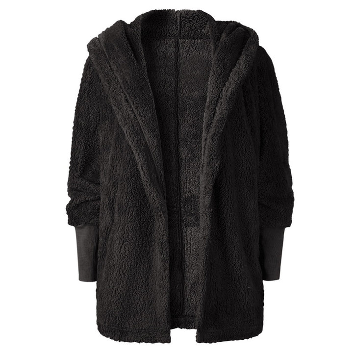 Women's Autumn/Winter Fur Cardigan With Long Sleeves