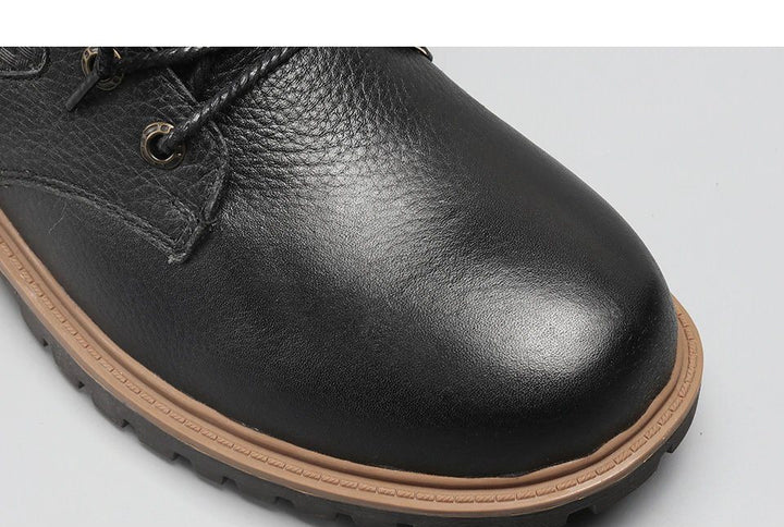 Men's Winter Warm Genuine Leather Shoes