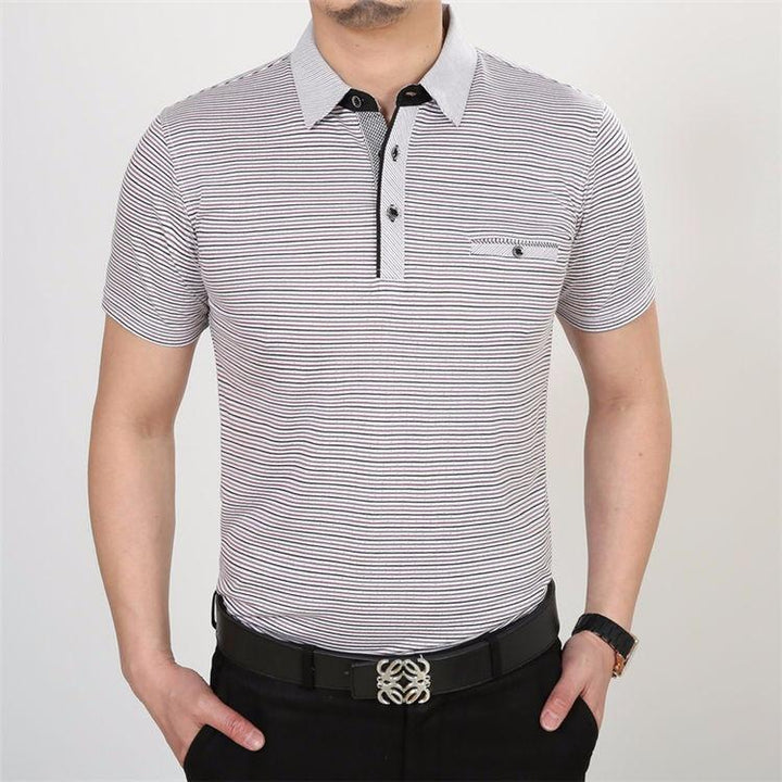 Men's Slim Fit Casual 100% Knitted Cotton T-Shirt