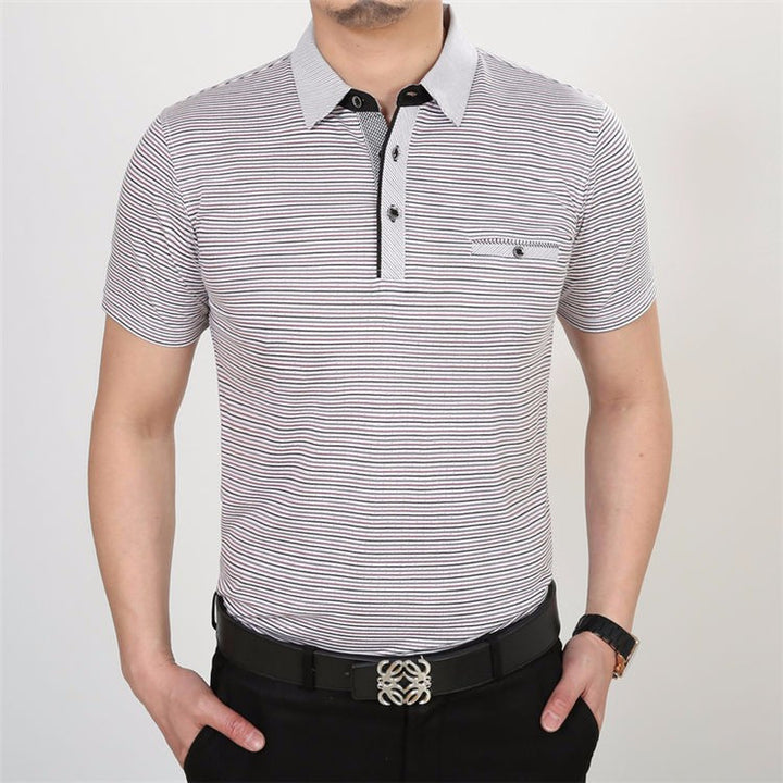 Men's Slim Fit Casual 100% Knitted Cotton T-Shirt - Zorket