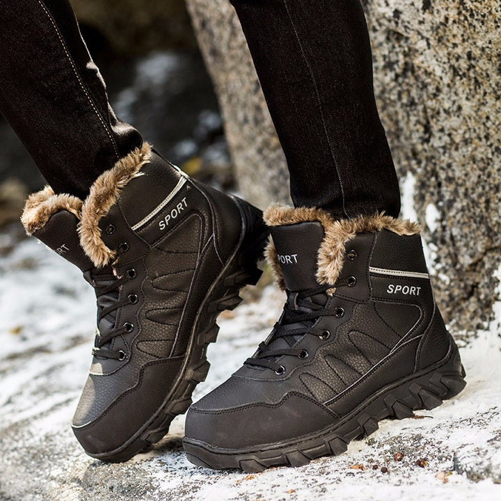 Round Toe Men's Casual Warm Boots - Zorket