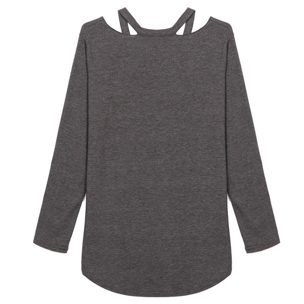 T-Shirt – Comfortable Women's Casual T-Shirt With Long Sleeves | Zorket