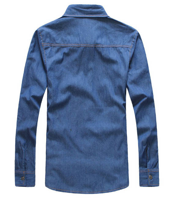 Shirt – Men's Casual Long Sleeve, Turn Down Collar Shirt | Zorket