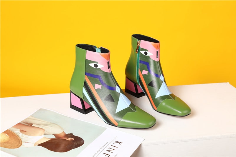 Women's Spring Autumn Ankle Boots | Women's Ankle Boots