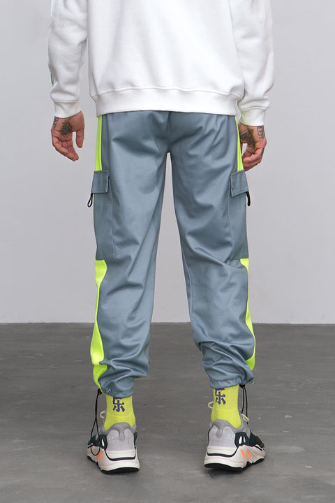 Men's Spring/Autumn Patchwork Loose Joggers