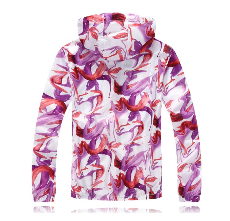 Men's Summer Quick Dry Colorful Ultralight Windbreaker
