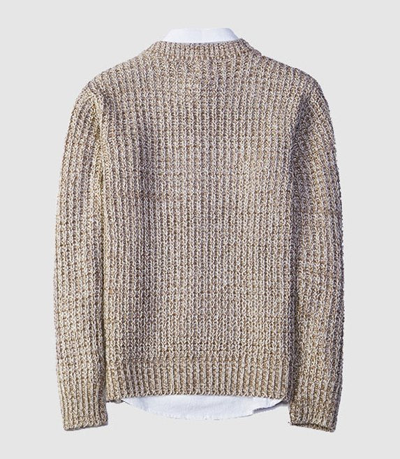 Men's Autumn Casual Woolen Loose Pullover