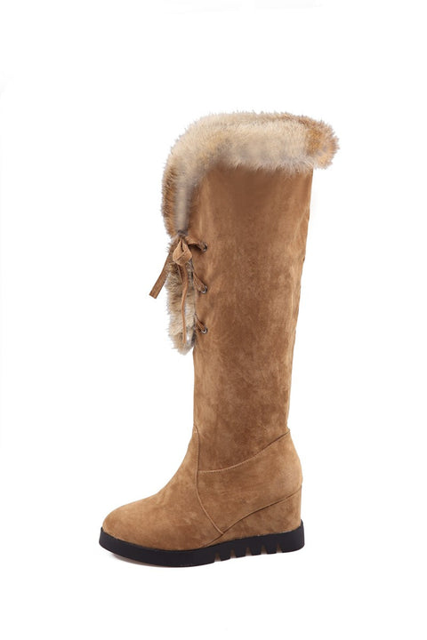 Women's Knee High Winter Boots - Zorket