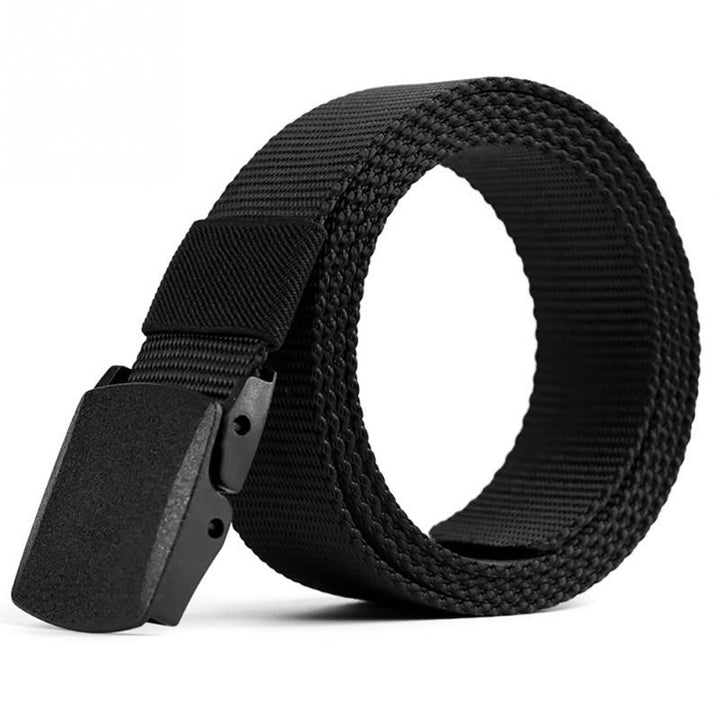Men's Automatic Buckle Nylon Military Belt | Men's Belt