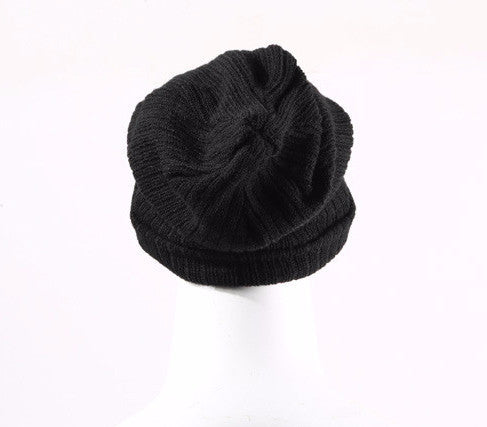 Autumn and Winter Casual Unisex Solid Color Warm Hat - Zorket