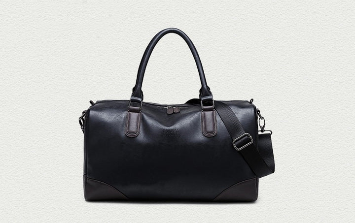 Men's PU Leather High Quality Casual Vintage Travel Bag - Zorket
