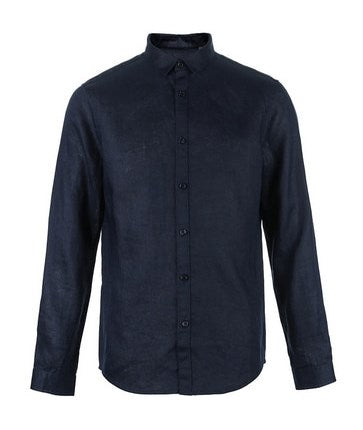 Men's Summer Casual Flax Long-Sleeved Shirt