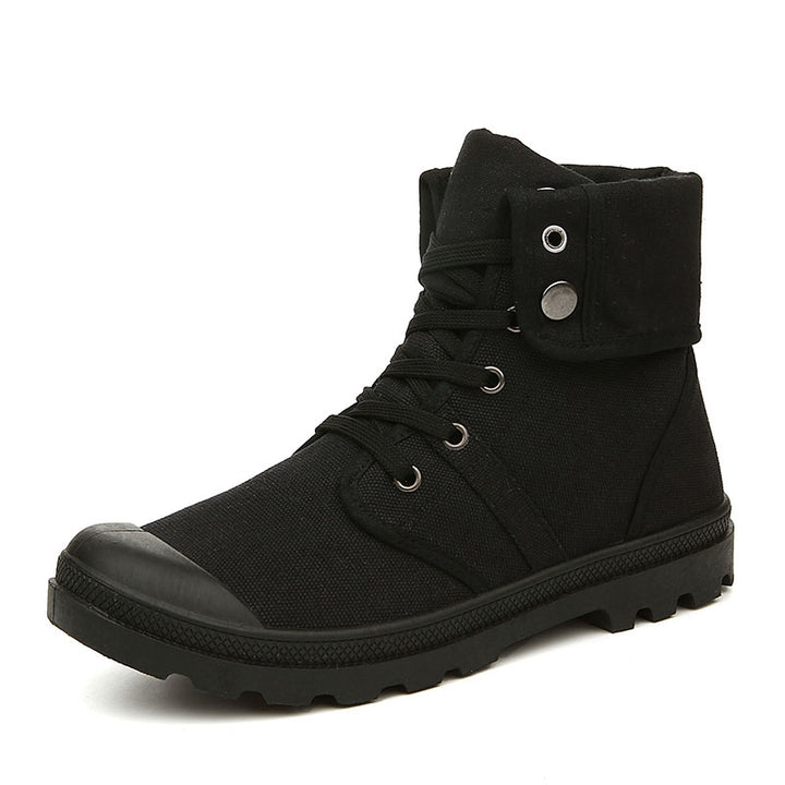 Men's Canvas Fashionable Boots