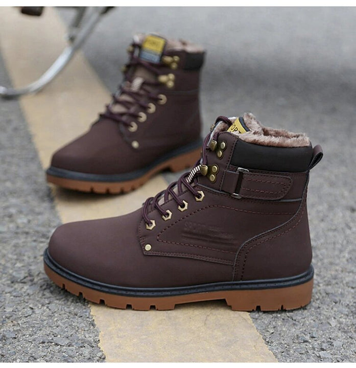 Men's Winter Fur Warm Boots