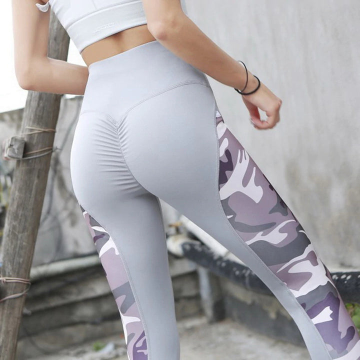 Women's Camouflage Slim Fitness Leggings