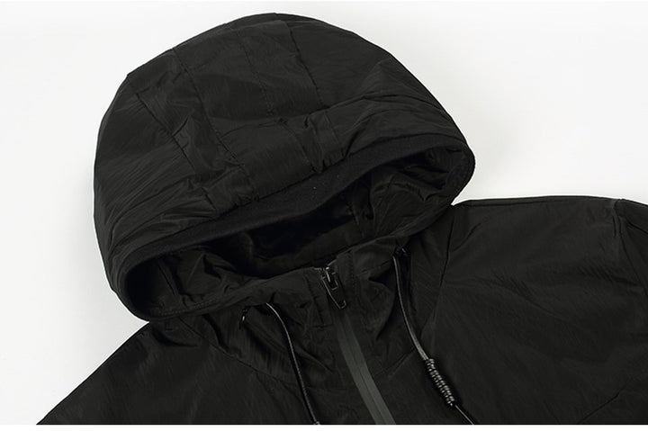 Men's Spring Hooded Windbreaker