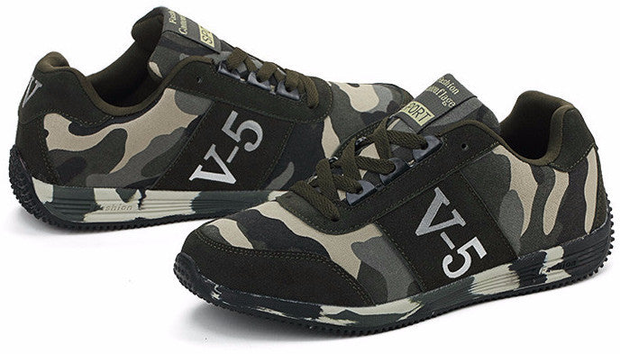 Sneakers – Men's Casual Comfortable Camouflage Sneakers | Zorket