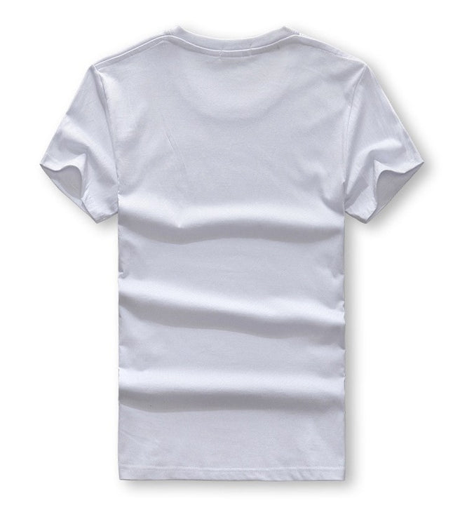 Men's Summer Short-Sleeved Slim T-Shirt With Indian