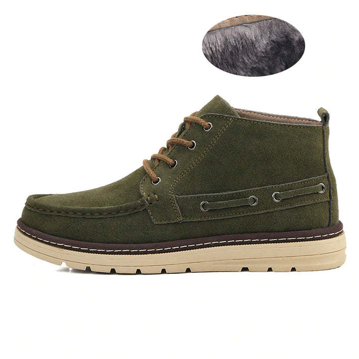 Men's Winter Casual Canvas Warm Vintage Style Shoes
