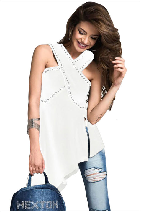 Stylish Summer Women's Tank Top For Party - Zorket