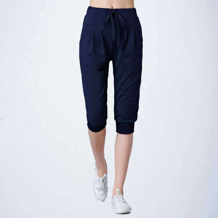 Women's Summer Calf Length Harem Capris - Zorket
