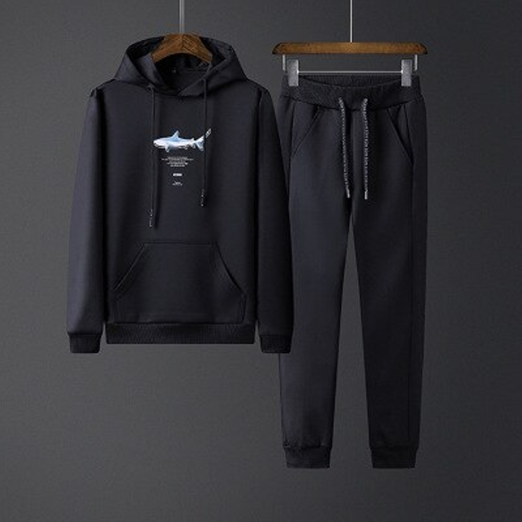 Men's Casual Tracksuit With Print