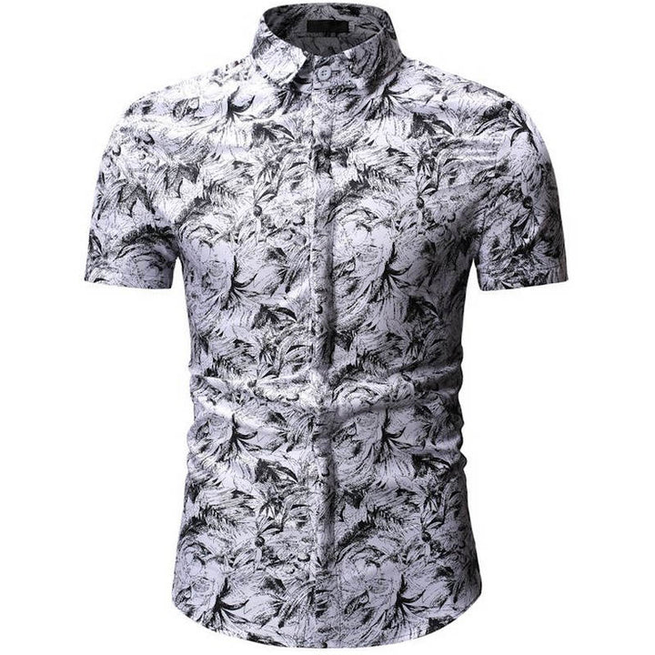 Men's Summer Short Sleeve Shirt