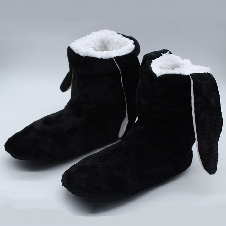 Women's Winter Warm Plush Home Slippers