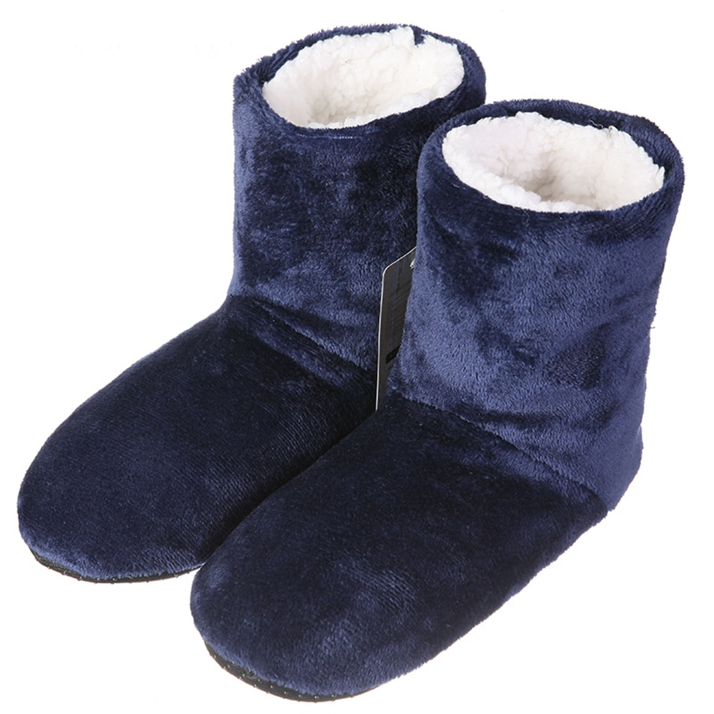 Men's Autumn/Winter Warm Plush Home Slippers