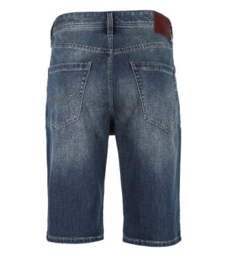 Men's Fading Denim Shorts