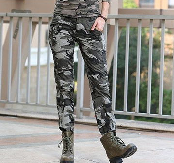Women's Military Camouflage Pants - Zorket