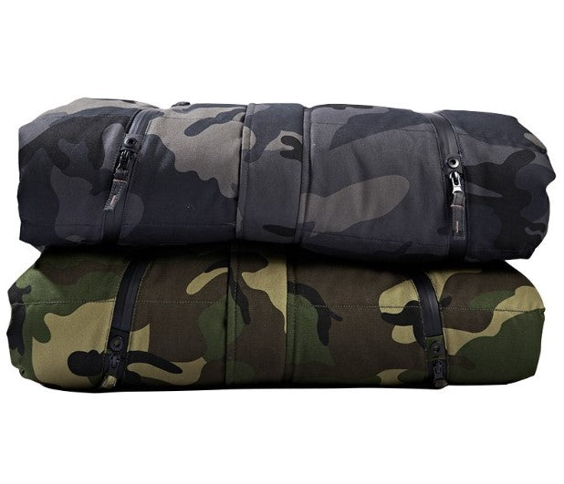 Men's Winter Warm Camouflage Hooded Parka