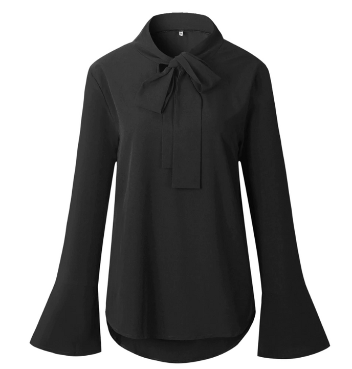 Women Autumn Casual Flare Long-Sleeved Blouse