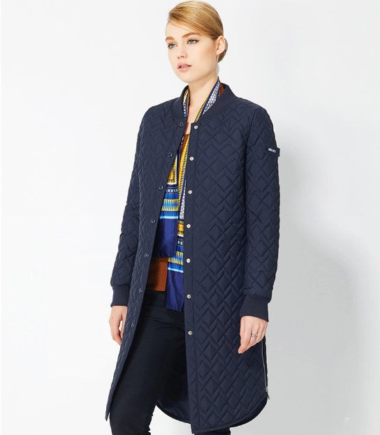 Women's Spring European Style Quilted Coat