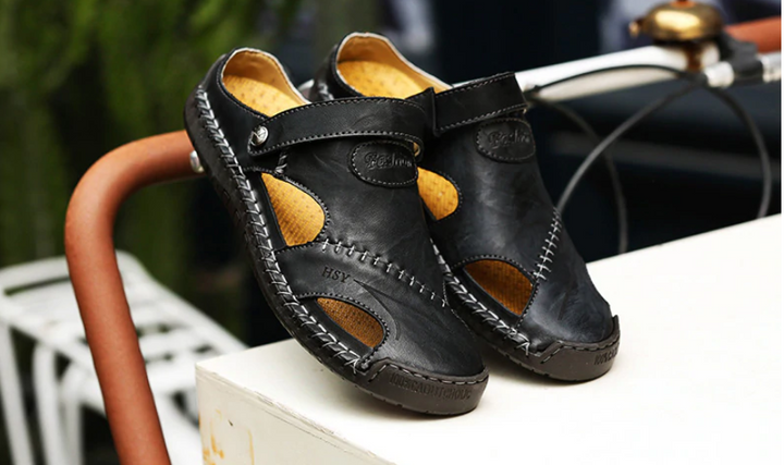 Men's Summer Leather Out Door Sandals