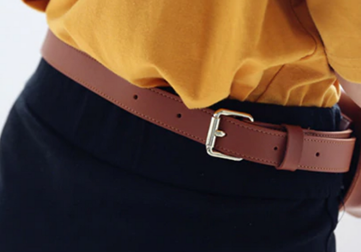 Women's Vintage Casual Waist Bag With Removable Adjustable Belt