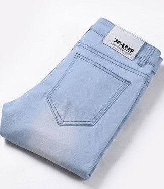 Men's High Quality Casual Cotton Denim Jeans - Zorket