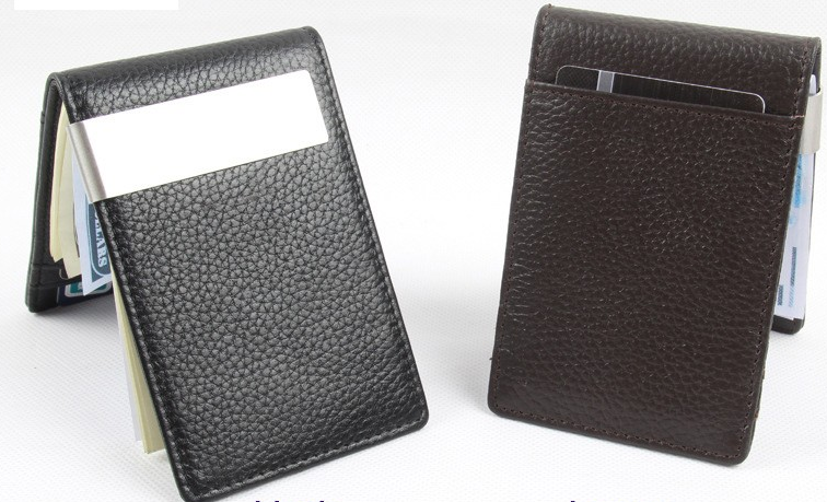 Wallet – 100% Genuine Leather Wallet With Money Clip | Zorket
