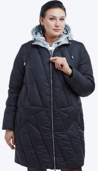 Women's Winter Warm Hooded Coat | Plus Size