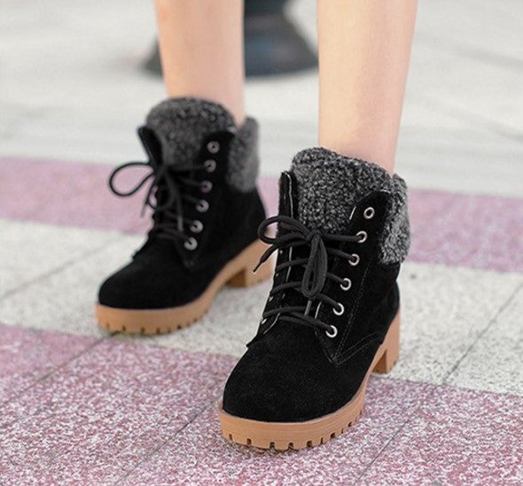 Boots – Fashion Suede Fur Snow Boots For Women | Zorket