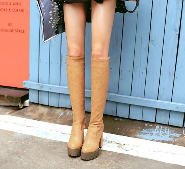 Knee High Women's Autumn / Winter Boots - Zorket