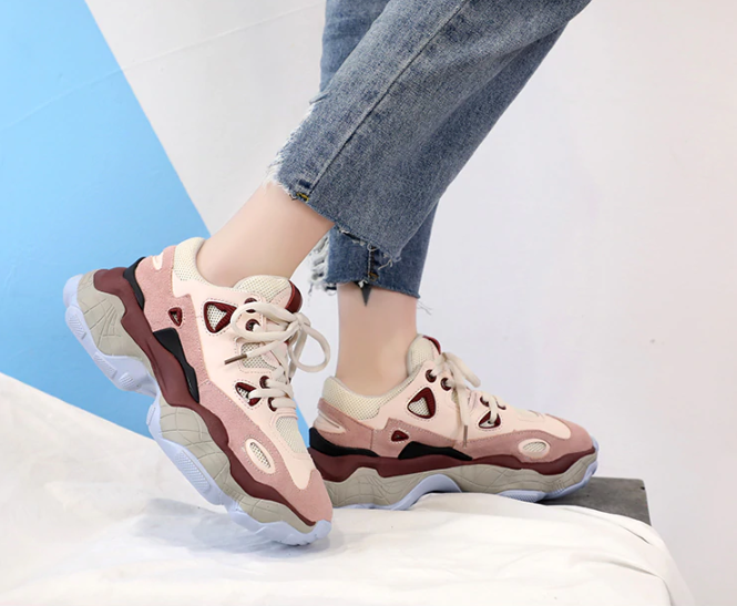Women's Spring/Autumn Fashionable Casual Sneakers