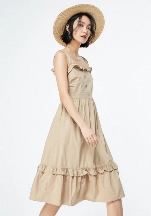 Women's Spring/Summer A-Line Dress