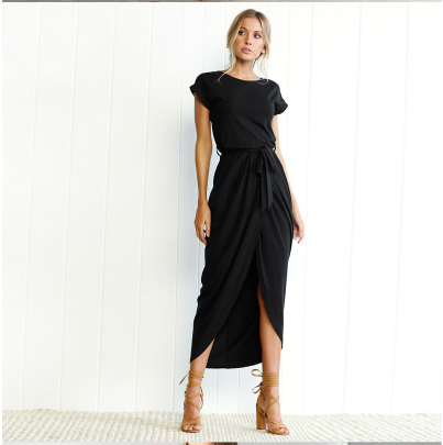 Women`s Summer Plus Size Casual Long Dress