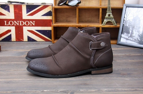 Boots – Comfortable Casual Men's Winter Boots With Fur | Zorket