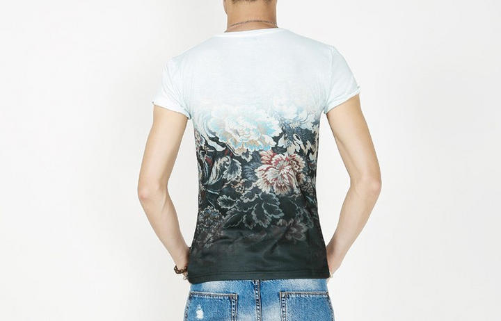 T-Shirt – O-Neck Casual Men's T-Shirt With Print | Zorket