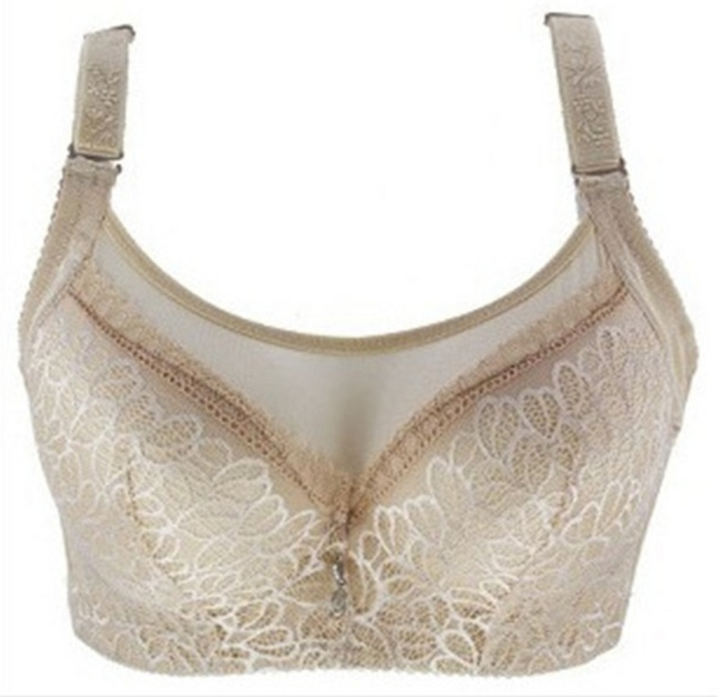 Women's Lace Push-Up Full-Cup Bra