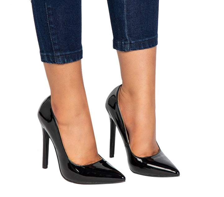 Women's Spring/Autumn Basic High-Heeled Pumps