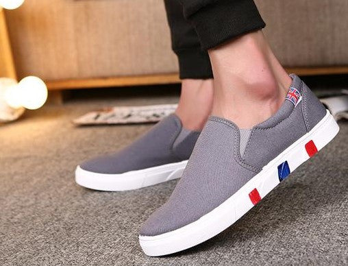 Autumn Casual Comfortable Solid Color Slip Slip-Ons - Zorket